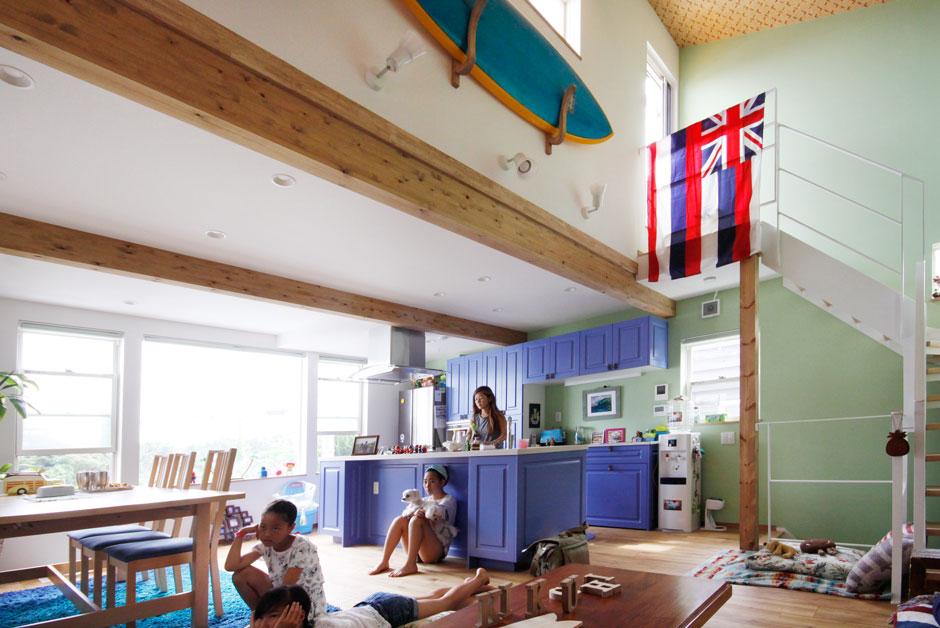 施工事例-K's Hawaiian House6